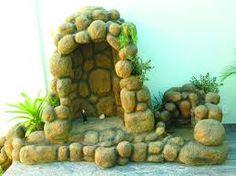 Resultado de imagem para grutas de jardim