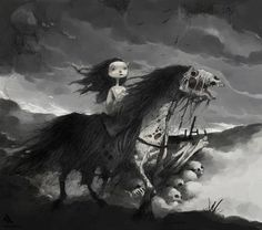 Deadhorse by Tony Sandoval