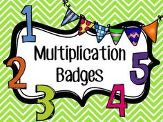 Have you students learn how to count by 2's, 3's, 4's, 5's, 6's, 7's, 8's, 9's, and 10's and earn badges when doing it. This product includes counting strips, quizzes, and a vest with badges.