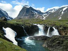 Kebnekaisefjällen Waterfall, World, Amazing, Outdoor, The World, Outdoors, Waterfalls, Outdoor Games, Rain