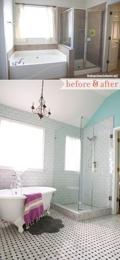 bath before and after, bathroom ideas, diy, home decor, lighting, small bathroom ideas, tiling