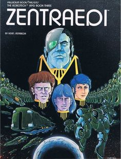 The Robotech RPG Book Three: Zentraedi - have to admit I'm not a big fan of the RPG but these books are awesome for source material about the Robotech universe.