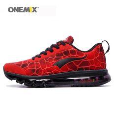 new product e133e 793cb Nouveau Onemix hommes de chaussures de course respirant hommes sport  chaussures de course en plein air de marche athlétique baskets plus la  taille 35-47