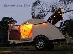 Ten Adorable Vintage Teardrop Campers