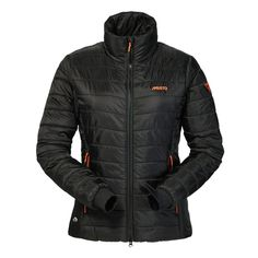 Musto Zara Phillips 176 Synergy Jacket. High performance Primoloft® Synergy insulation technology with external hand warmer pockets, elasticated DWR cuffs, gripper elastic at hem, MP3 internal pocket facility, high collar to protect from the elements. Machine washable. £150.00.