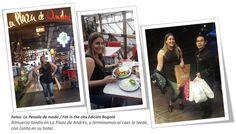 """Lolita vino desde Santacruz de la Sierra (Bolivia), a pasear y dedicó un día a las compras en Bogotá. Ella vivió la experiencia """"Fat in the city"""""""