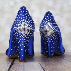 Navy Blue Wedding Shoes, Something Blue, Something Blue Shoes, Rose Gold  Wedding, Rose Gold Wedding Accessories, Custom Wedding Shoes, ...