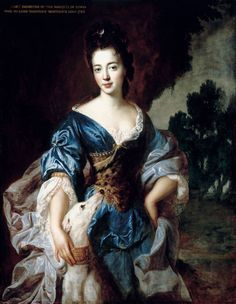 ab. 1688 Francois de Troy - Lady Mary Herbert, Viscountess Montagu, previously the Hon. Lady Richard Molyneux and later Lady Maxwell, as Diana