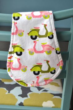 contour burp cloth tutorial and pattern                                                                                                                                                     More