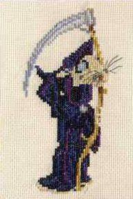 Discworld Death of Rats cross stitch kit