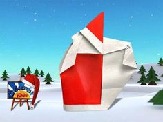 Origami Santa Claus 3B by Giang Dinh http://christmas.origami-kids.com/paper-santa-claus/origami-santa-claus-3b-by-giang-dinh.htm  Origami Santa Claus 3B by Giang Dinh Designer: Giang Dinh Folder and Photographer: @Origami_Kids Difficulty level: Easy. Time to fold 15 min. Folded from a one classic Red and White Single Uncut square origami paper about 20cm x 20cm. How  Continue reading   The post Origami Santa Claus 3B by Giang Dinh appeared first on Origami Christmas.