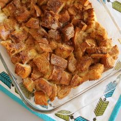French Toast Casserole is a Christmas morning tradition for us. It's a breeze to make & makes everyone feel loved. It's the perfect easy family breakfast.
