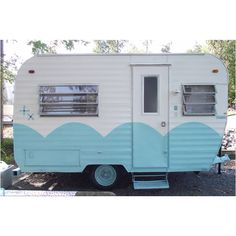 Vintage camper, this is a 1970 fan