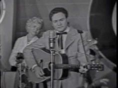 Lefty Frizzell. Coffee and Cigarettes Blues. Town Hall Party. Compton, California.