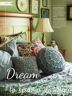 lo spazio di lilla: Copertina crochet e cuscini d'arredo con schemi / Crochet squares blanket and pillows, free pattern