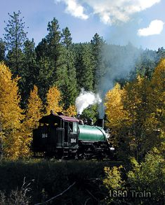 1880 Train :: Black Hills Steam Train...Rode in the Black Hills. 6-12