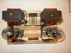 2x Telefunken 1938 power units for Klangfim project and field coil speaker