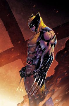 Wolverine ( X-Men ) // Marvel // Art Marvel Wolverine, Marvel Comics, Anime Comics, Logan Wolverine, Marvel Vs, Marvel Heroes, Wolverine Tattoo, Comic Book Characters, Comic Book Heroes