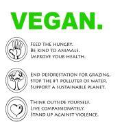 VEGAN: Reasons to be Vegan