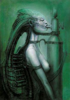 Beyond Alien: the disturbing psychedelic artwork of HR Giger