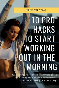 Morning is the Best Time to Exercise to Lose Weight. Read more on Benefits of Working Out in the Morning in my latest FITBODY magazine. Ab Workout At Home, Abs Workout For Women, Workout For Beginners, Workout Abs, Burn Fat Build Muscle, Best Abdominal Exercises, Fitness Magazine, Health Magazine, Lower Ab Workouts