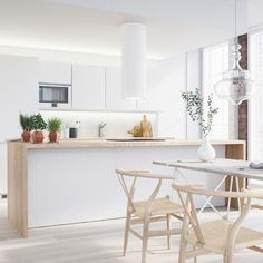 #ENJOloves clean, white, fresh homes. Loving this #interiorinspo for our Friday. Here's to the weekend!
