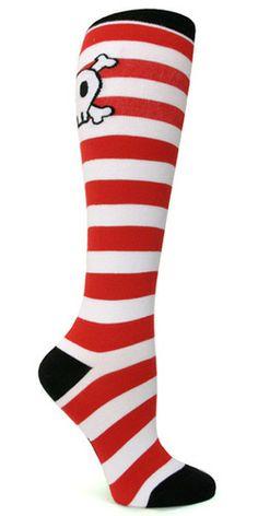 Sock It to Me | Women's Knee High | Pirates