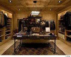 I want my wardrobe to look something like this.