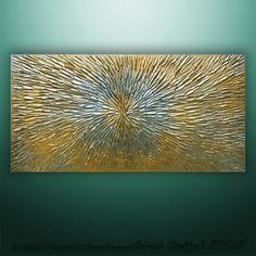 3D Original Heavy texture Art  Modern Landscape Original