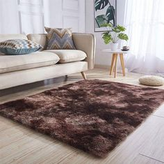 Perry - Soft Plush Area Rug – Warmly Faux Fur Area Rug, Faux Sheepskin Rug, Crane Design, Plush Area Rugs, Waterfall Faucet, Home Carpet, Bedroom Sofa, Cleaning Materials, Simple House