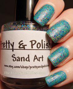 Pretty and Polished Sand Art!
