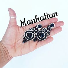Manhattan #orecchini #earrings #soutache
