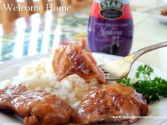 Welcome Home Blog: Skillet Teriyaki Chicken Thighs