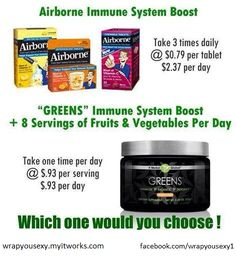 It Works! Greens! Detoxify, Alkaline, and Energize! contact me on Facebook at https://www.facebook.com/wrappingfarmgirl or order today at http://wrappingfarmgirl.myitworks.com