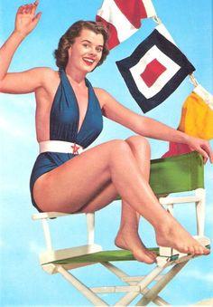 maillots de bain des annees 40 et 50 27   Maillots de bain des années 40 et 50   vintage pin up photo maillot de bain image années 50 années 40