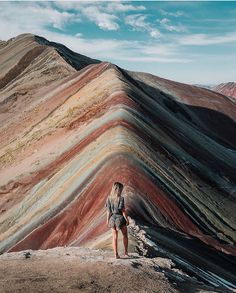 Rainbow Mountain, Cusco, Peru, America do Sul,. Oh The Places You'll Go, Places To Travel, Peru Travel, Travel Blog, Beach Travel, Hawaii Travel, Italy Travel, Ushuaia, South America Travel