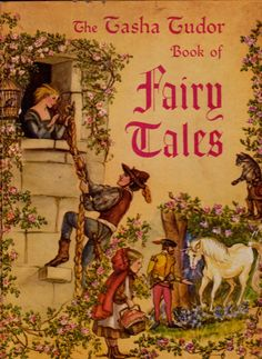 *Tasha Tudor Book of Fairy Tales amazing illustrations for collection of 12 traditional fairy tales, gorgeous art and classic stories, 1969.