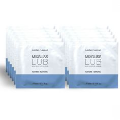 LUBRICANTE BASE DE AGUA NATURAL 12 MONODOSIS MIXGLISS LUBRICANTE BASE DE AGUA NATURAL 12 MONODOSIS MIXGLISS. Con el lubricante intimo de base agua Natural MIXGLISS sin perfume siempre acertarás. Su form...  #MIXGLISS