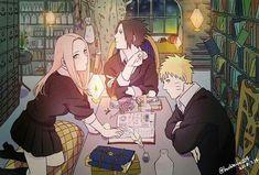 Naruto Sakura y Sasuke Anime Naruto, Sasuke X Naruto, Sharingan Kakashi, Sasori And Deidara, Naruto Fan Art, Naruto Cute, Sakura And Sasuke, Sasunaru, Narusaku