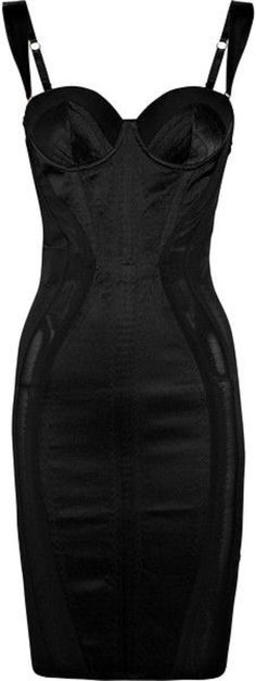 Agent Provocateur Zelma Satin Contour Dress -Edited by ShazB