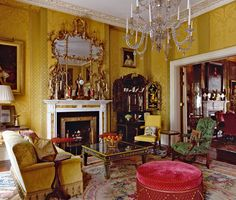 The drawing room in a London town house designed by Alidad, which was featured room in British H&G, Nov 2013.