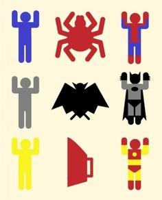 Origin of superheroes