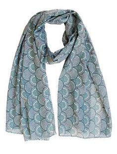 Scarf / Sarong - Minty green mosaic Mosaic, Green, Collection, Fox, Accessories, Fashion, Moda, Fashion Styles, Mosaics