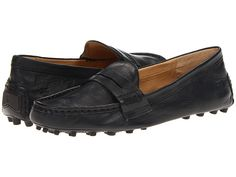 Frye Rebecca Penny Black Soft Vintage Leather - Zappos.com Free Shipping BOTH Ways