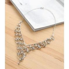 Filigree Frontal Necklace One Size