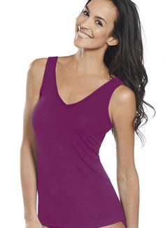 b237e6bda7e34 Jockey Supersoft V-neck Camisole