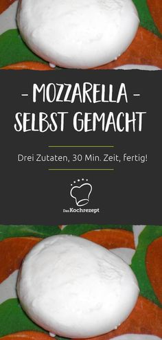 Homemade mozzarella Why buy mozzarella when it tastes much better? Here's how it works: All you need is three ingredients 30 minutes ready! The post Mozzarella homemade appeared first on Pasta Recipes. Diy Snacks, Party Snacks, Mozzarella Homemade, Homemade Cake Recipes, Party Buffet, Frugal Meals, Greek Recipes, Diy Food, Food Inspiration
