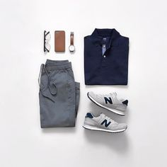 Up for a quick round of golf? Check out our Active Occassion from our bio. More outfit inspirations for you there! Fashion Mode, Latest Fashion Clothes, Mens Fashion, Fashion Outfits, Casual Wear For Men, Herren Outfit, Outfit Grid, Dapper Men, Gentleman Style
