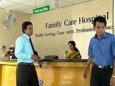 Reseption- Family Care Hospital, Nagoda, Kalutara, Sri Lanka
