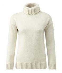 Womens Submariners Sweater  -- Ecru